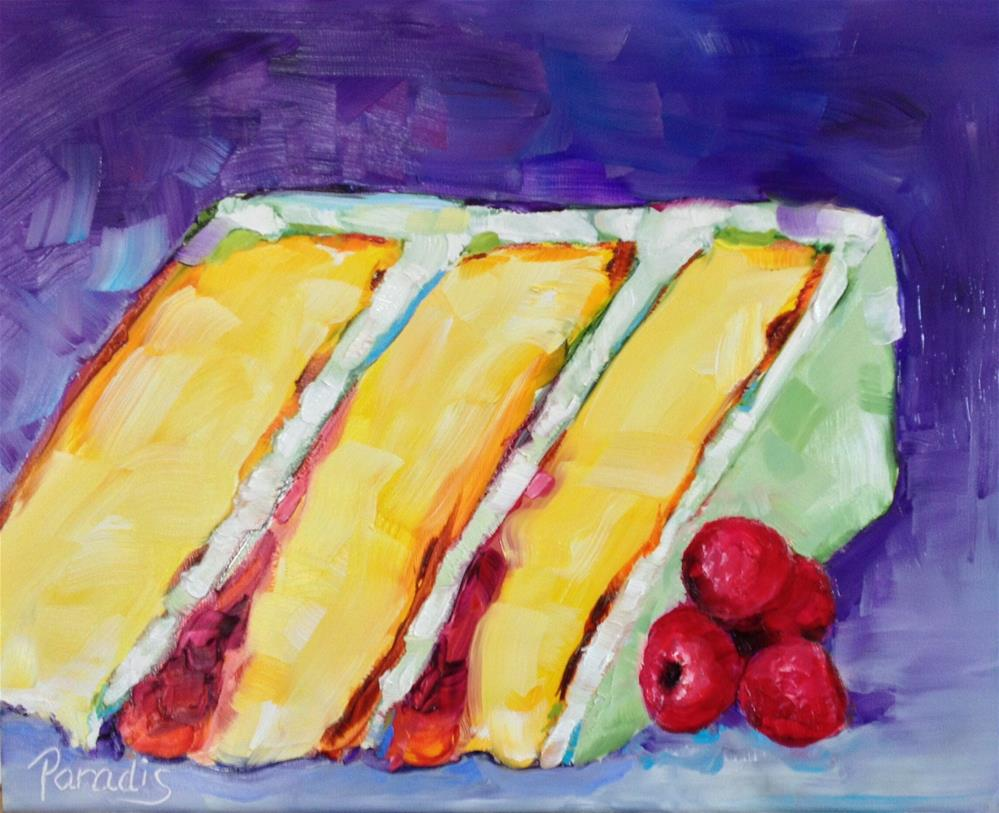 """Have Your Cake and Color Too"" original fine art by Rita Paradis"