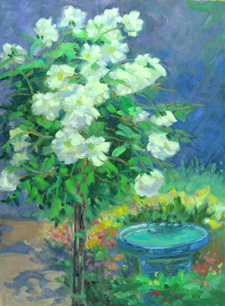 """Iceberg Roses"" original fine art by Rhett Regina Owings"