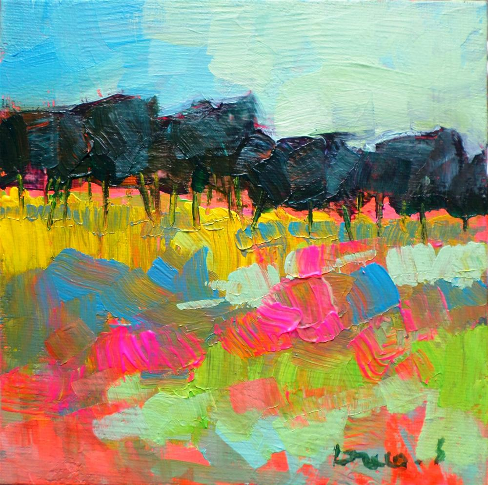 """Light on the field 2"" original fine art by salvatore greco"