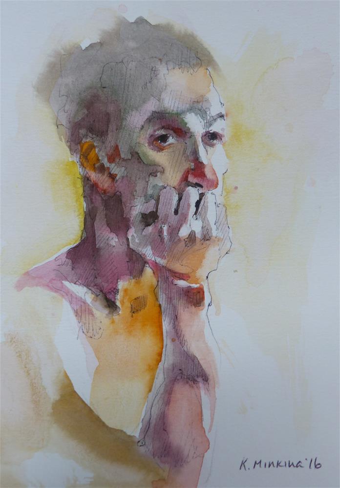 """sketchbook#31"" original fine art by Katya Minkina"
