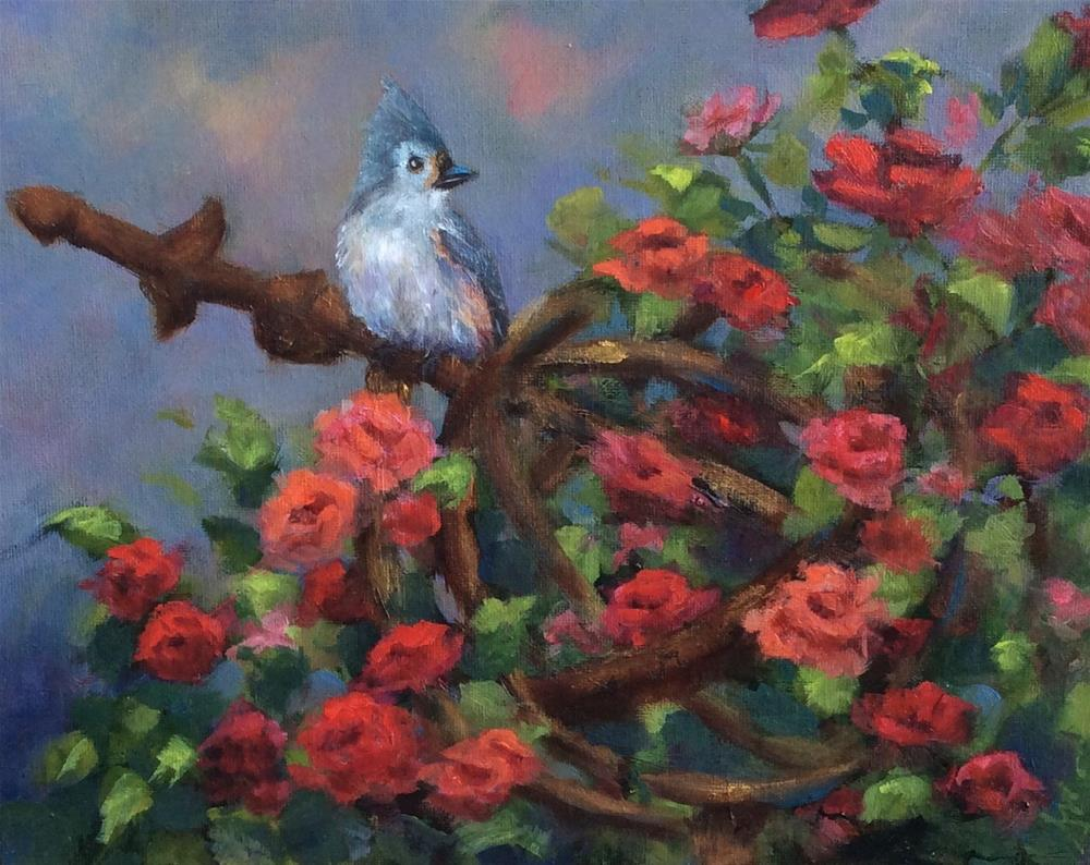 """""""Gazing"""" original fine art by Susie Monzingo"""