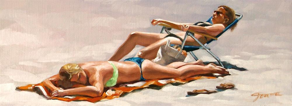 """Cozy Spot"" original fine art by Joanna Bingham"