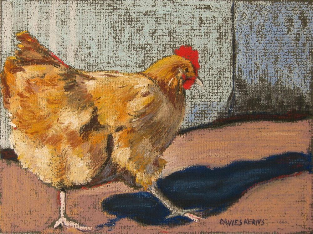 """golden 2"" original fine art by Mary Davies Kerns"