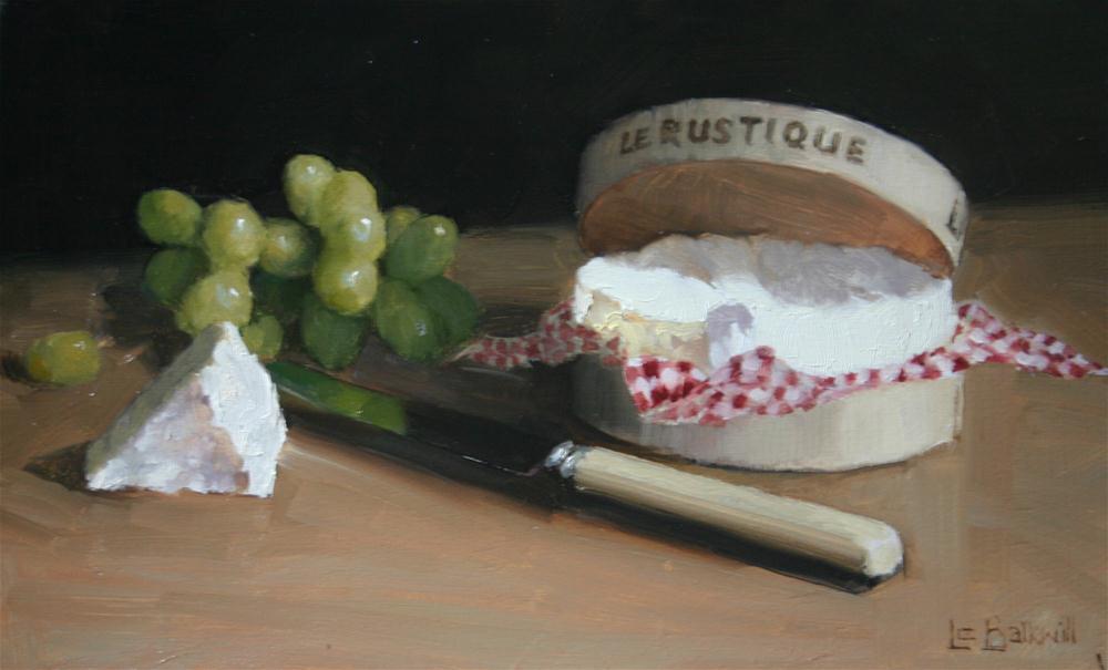 """Le Rustique"" original fine art by Liz Balkwill"