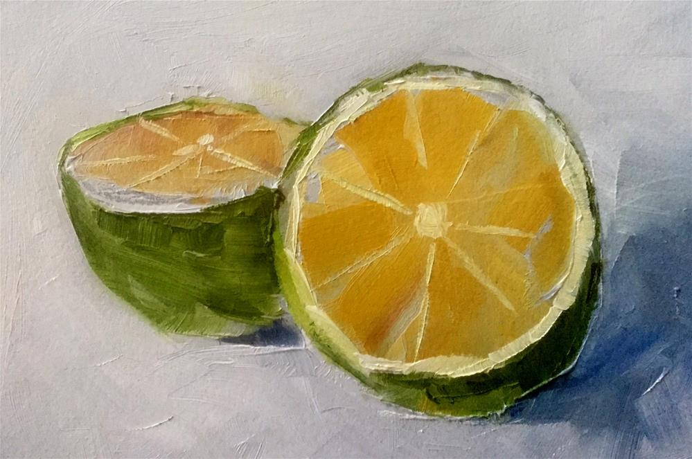 """Fresh From the Tree"" original fine art by Gary Bruton"
