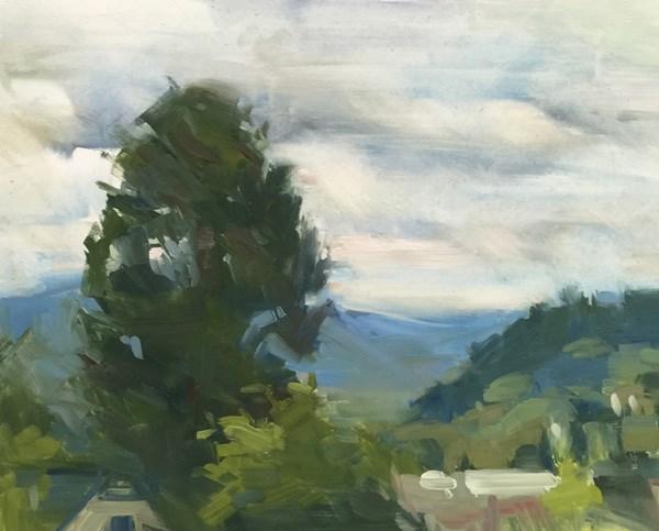 """On Top of the World!"" original fine art by Patti McNutt"