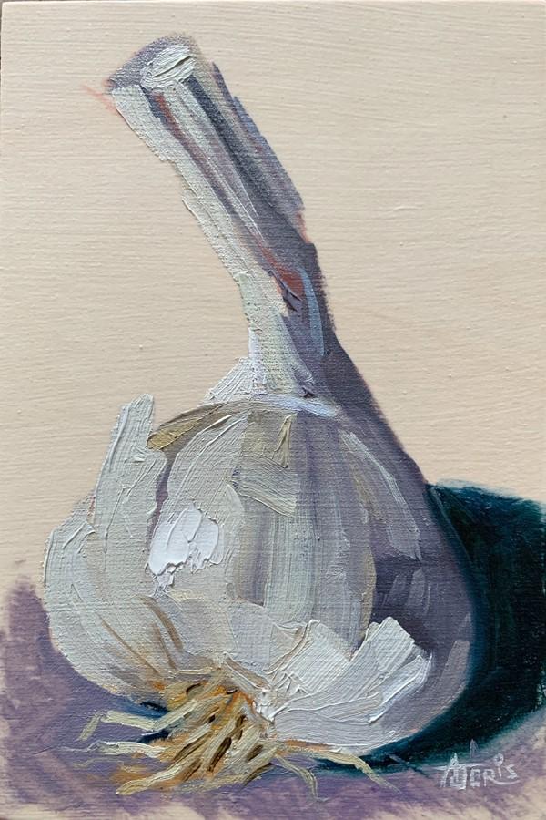 """Add One Clove of Garlic"" original fine art by Andrea Jeris"