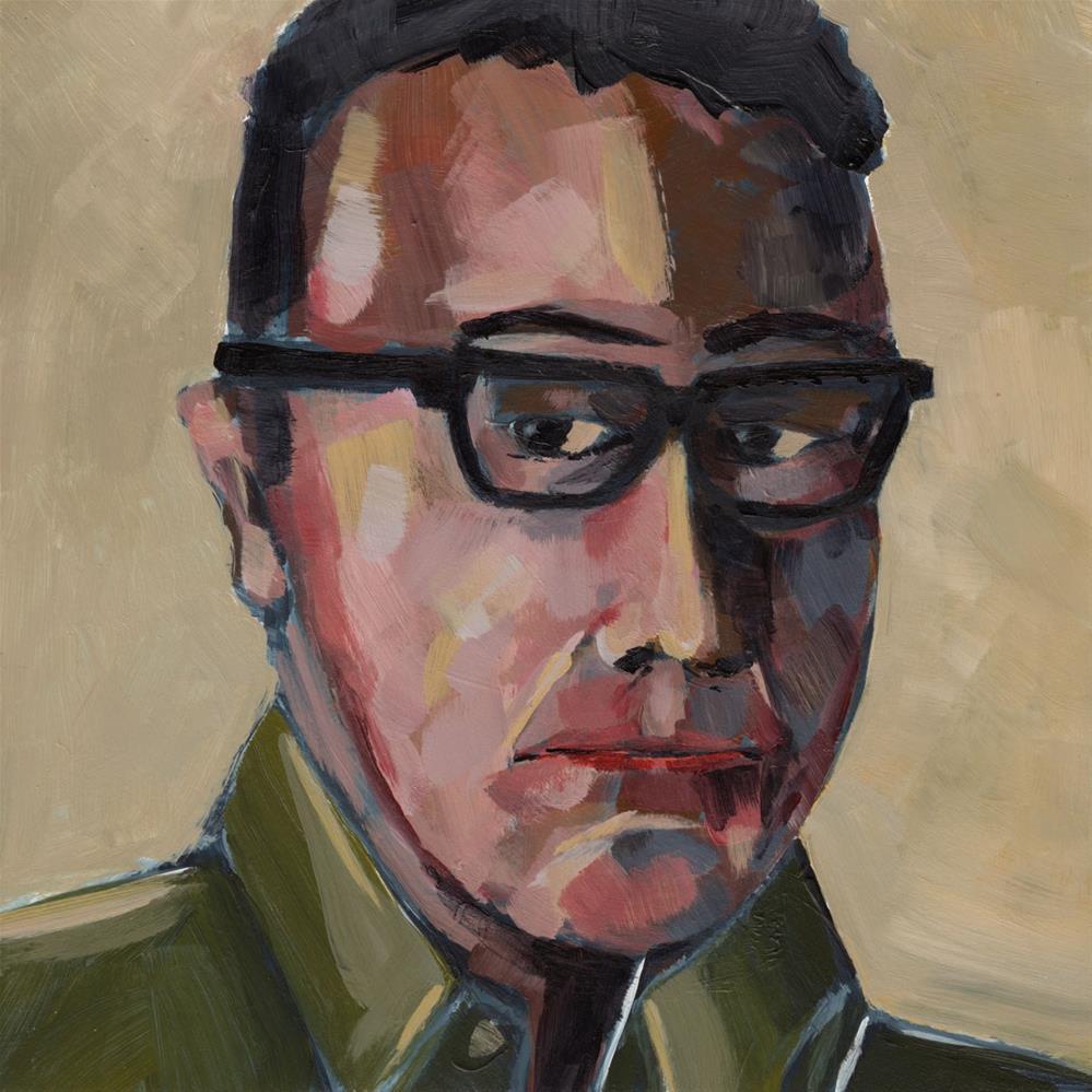 """0425: Eugene"" original fine art by Brian Miller"