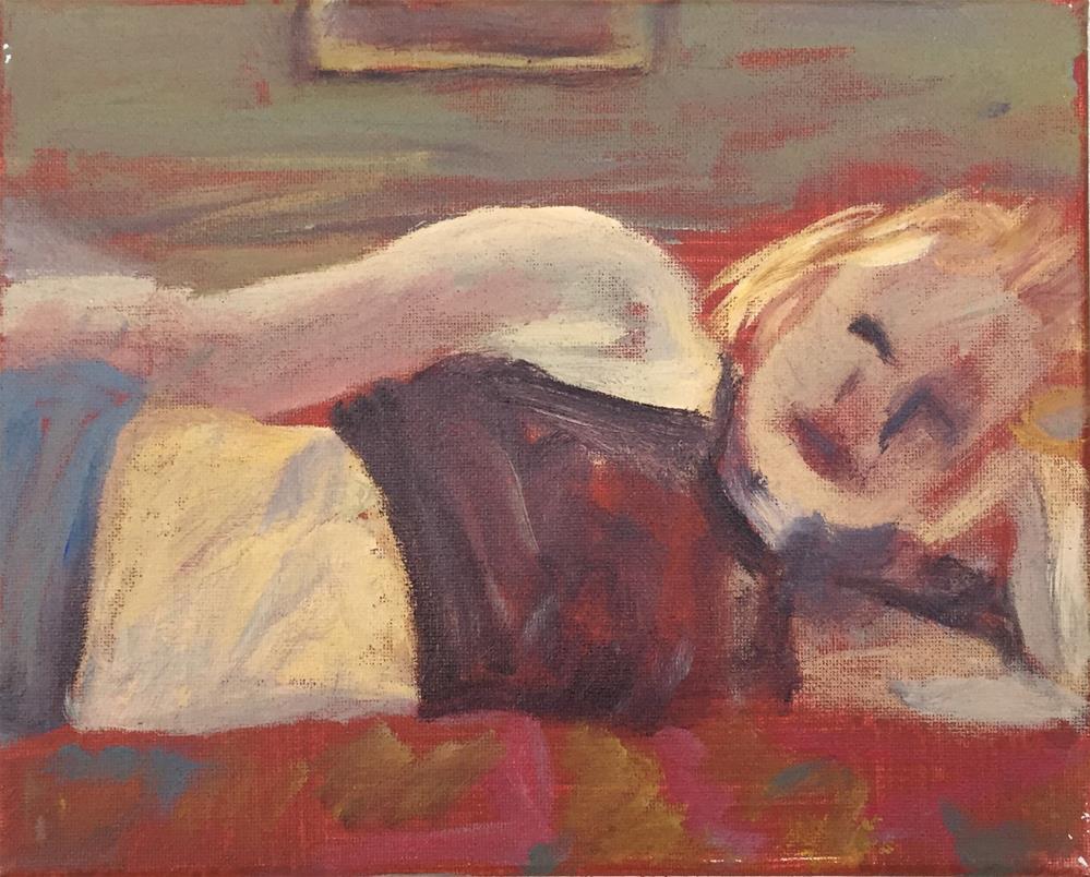 """Instincts and Dreams"" original fine art by Madeleine Hoffmeister"