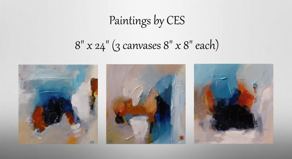 """Changing Batteries"" original fine art by ~ces~ Christine E. S. Code"