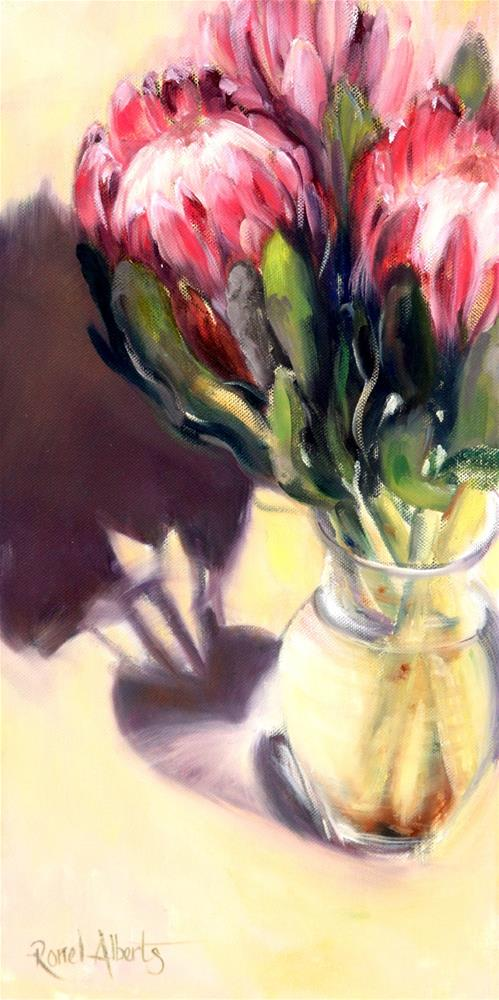 """golden sunlight"" original fine art by Ronel Alberts"