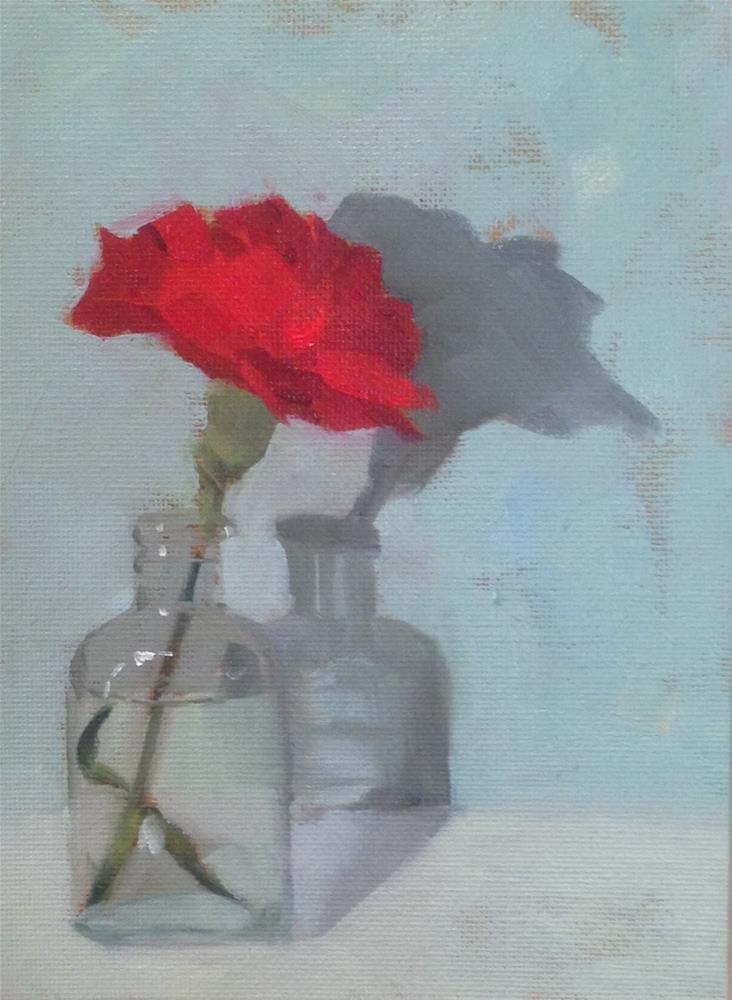 """Luscious Carnation"" original fine art by Philla Barkhorn"