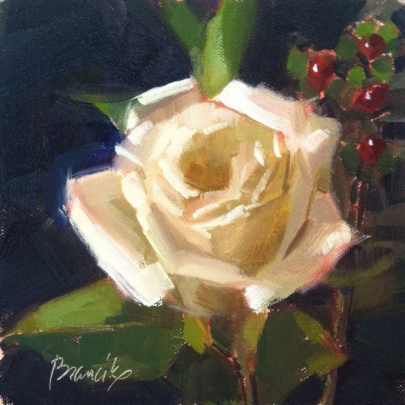 """""""Rose Study"""" original fine art by Candace Brancik"""