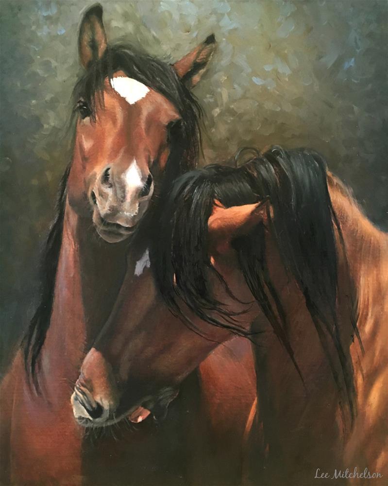 """""""Playtime"""" original fine art by Lee Mitchelson"""