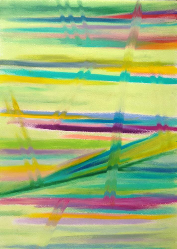 """""""Things are Moving"""" original fine art by Adéla Svobodová"""