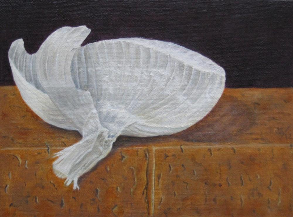 """""""White Onionskin"""" original fine art by Pera Schillings"""