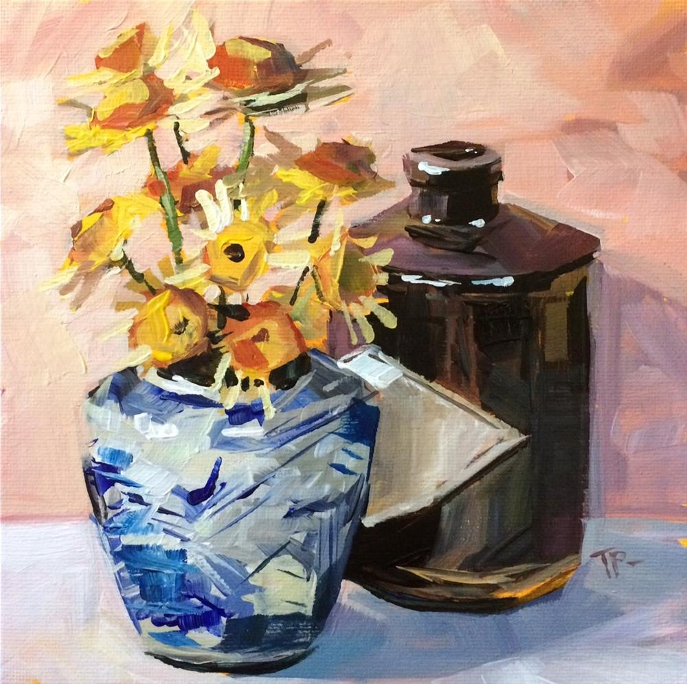 """New Paint"" original fine art by Teddi Parker"