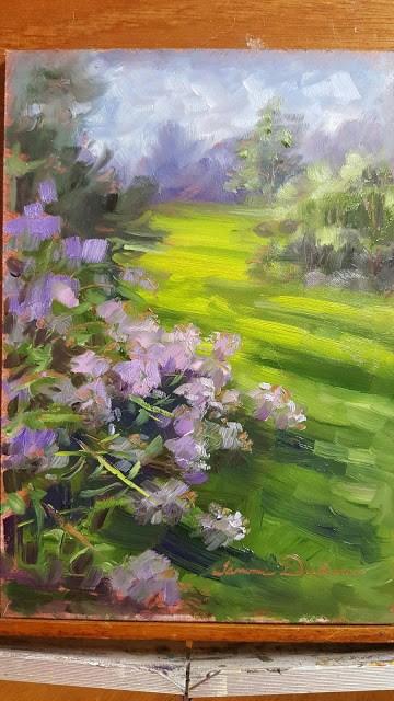 """Abundant Phlox"" original fine art by Tammie Dickerson"