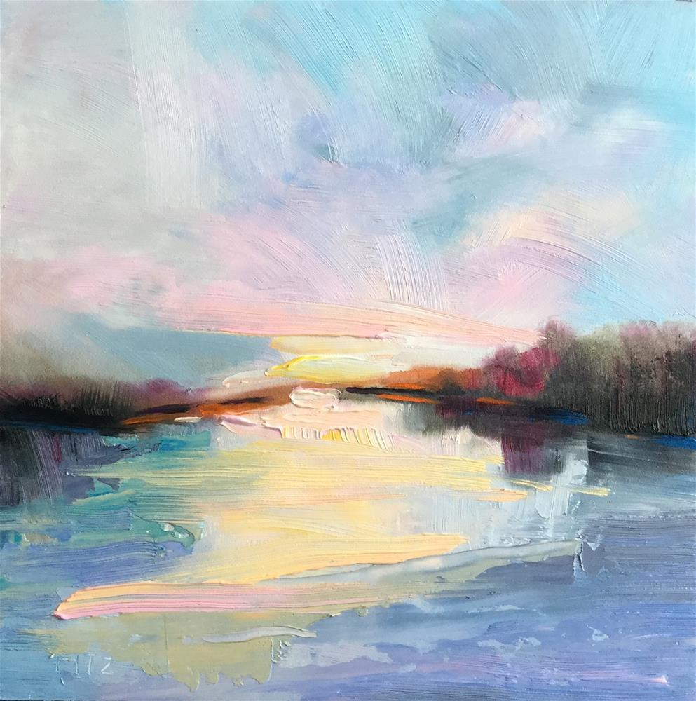 """Sunrise"" original fine art by Charlotte Fitzgerald"