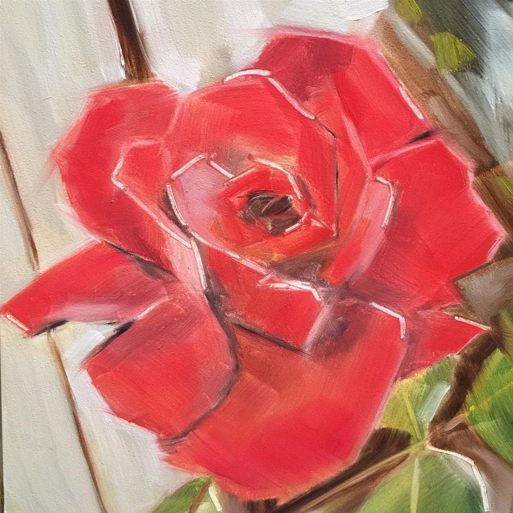 """""""450 Petal by Petal"""" original fine art by Jenny Doh"""