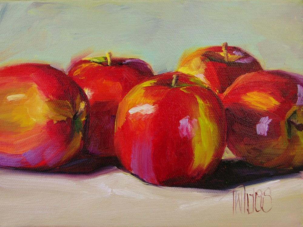"""Crisp Quartet"" original fine art by Lori Twiggs"