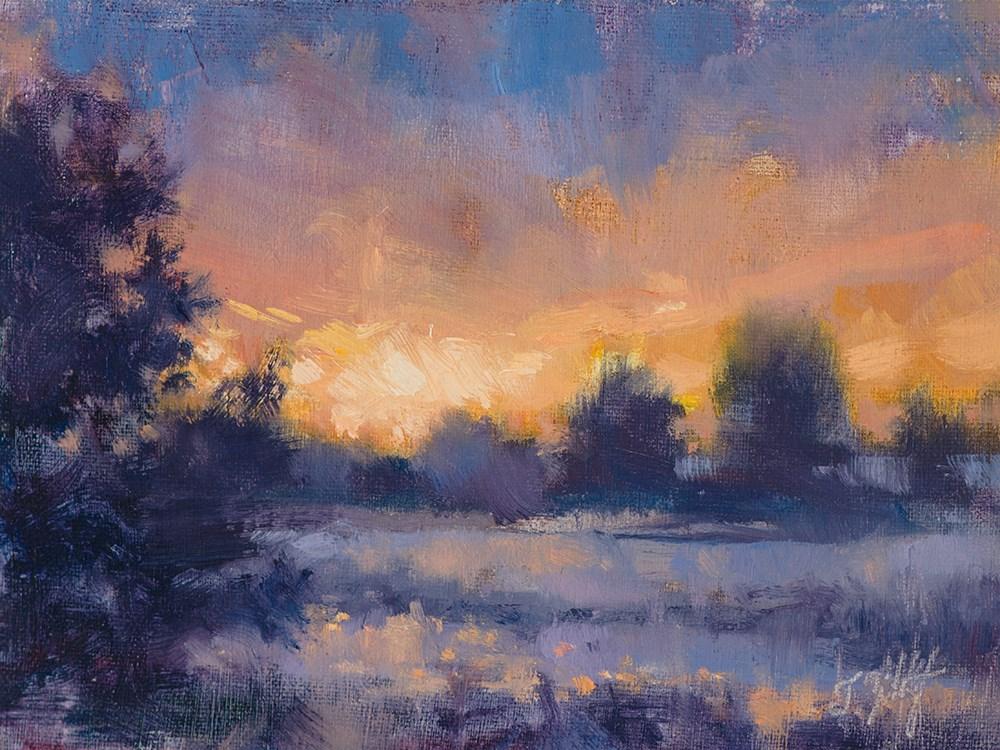 """Lavender Reprise"" original fine art by Todd Zuithof"