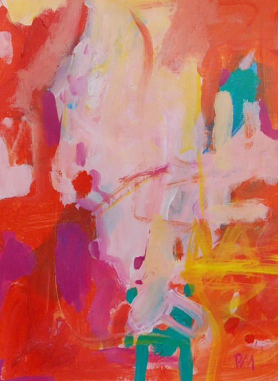 """Festival"" original fine art by Pamela Munger"