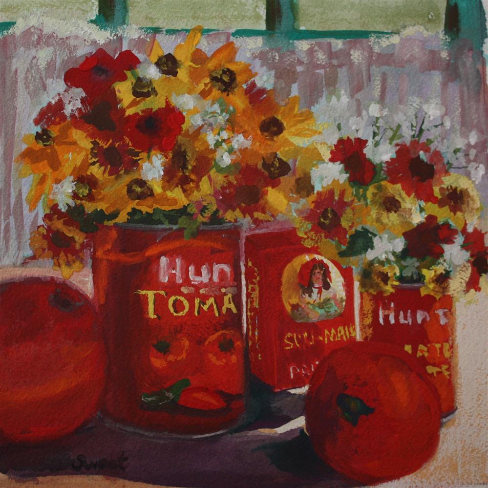 """""""Sun Made"""" original fine art by Pamela Sweet"""