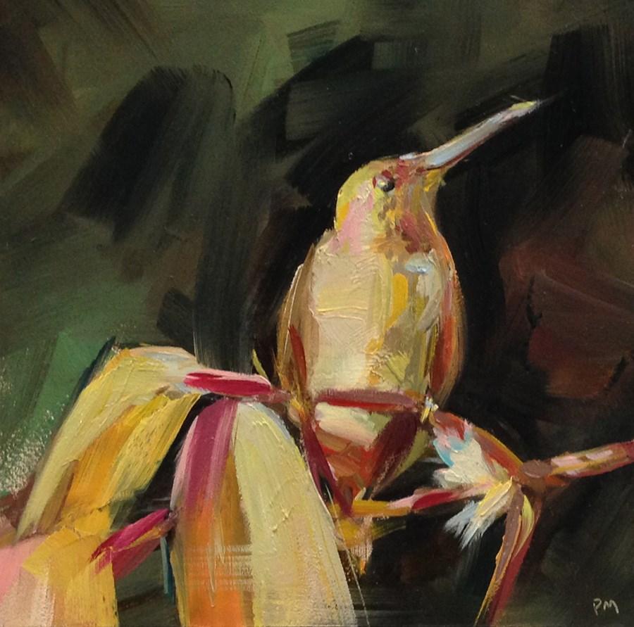 """Humming a Tune"" original fine art by Patti McNutt"
