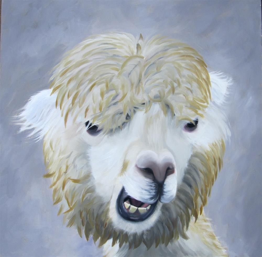 """""""Whatcha Lookin' At"""" original fine art by Amy Hillenbrand"""