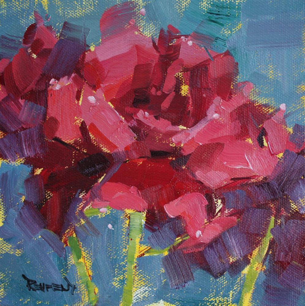 """My Favorite Rose"" original fine art by Cathleen Rehfeld"
