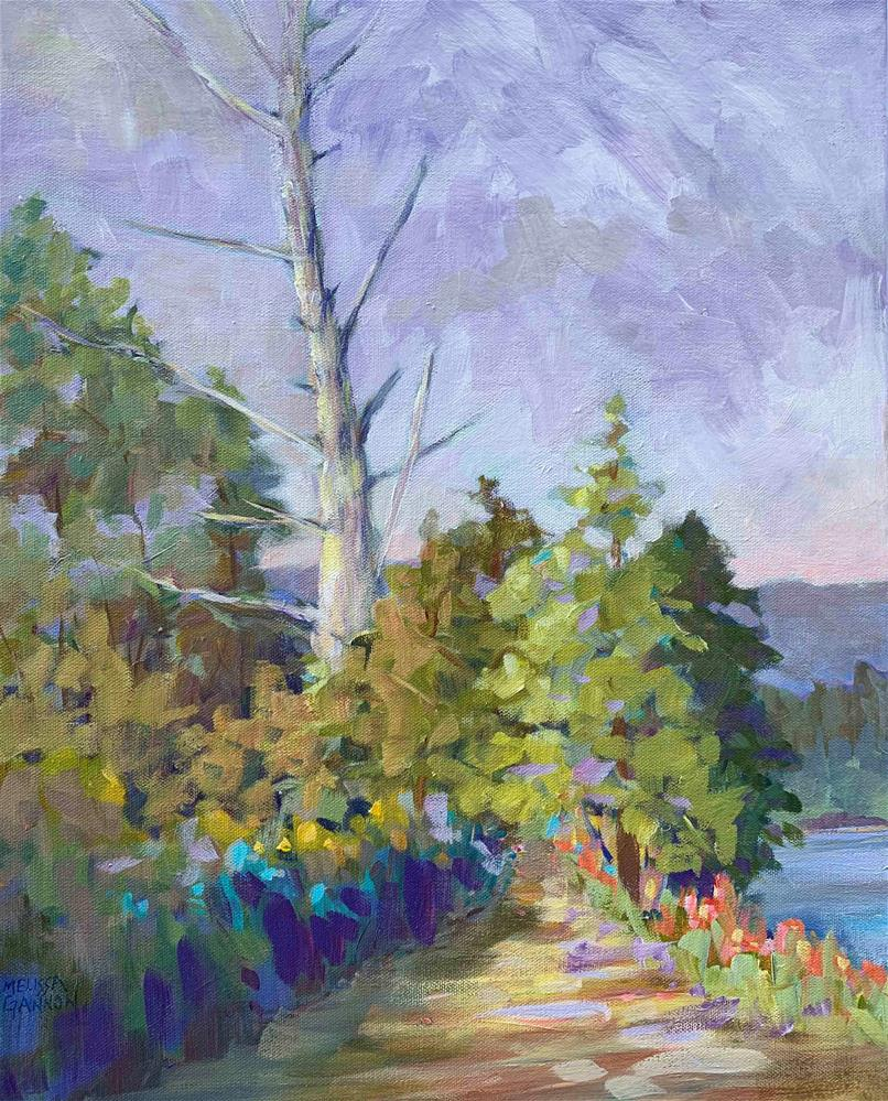 """Path Along the River"" original fine art by Melissa Gannon"
