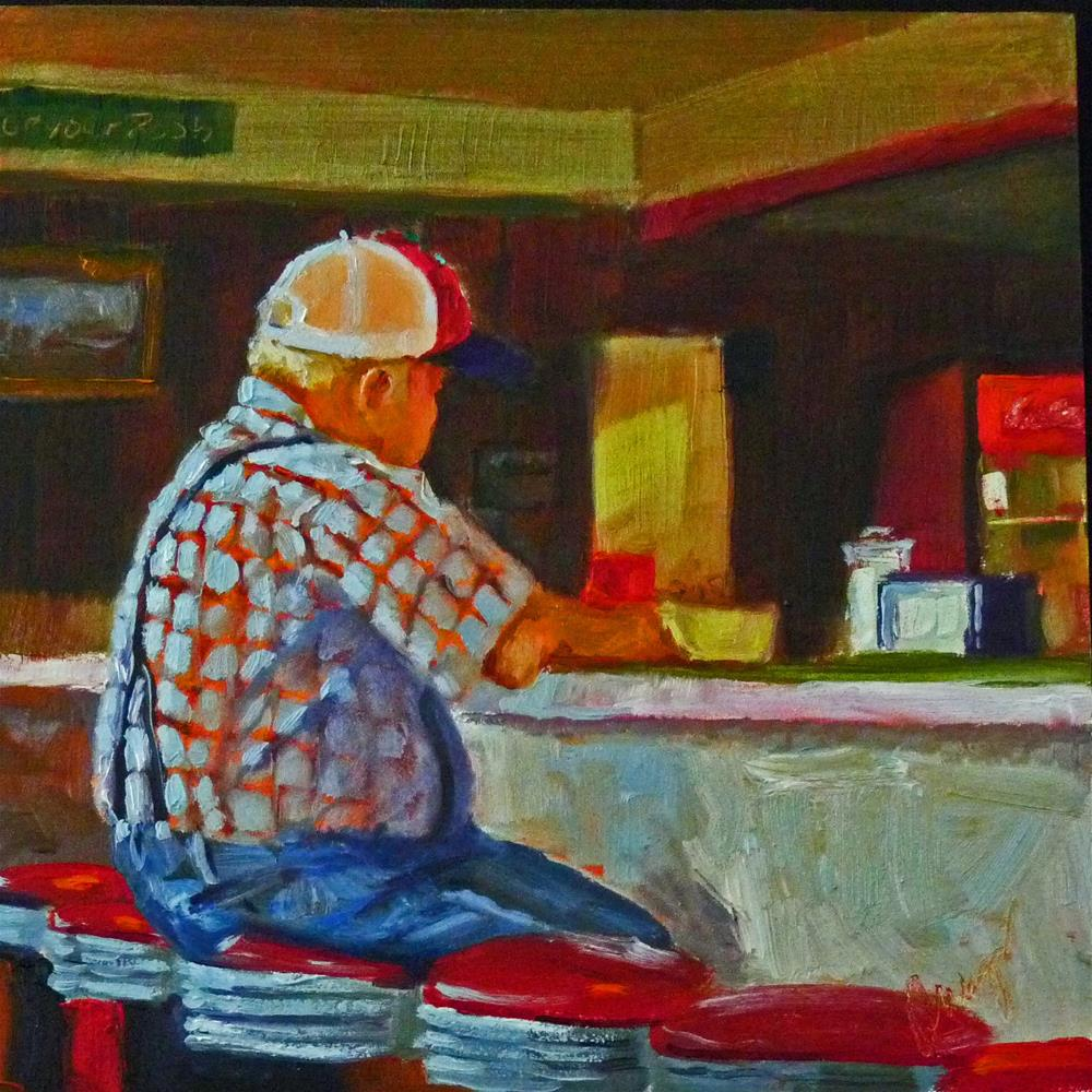 """""""Coke With That?"""" original fine art by Sharman Owings"""