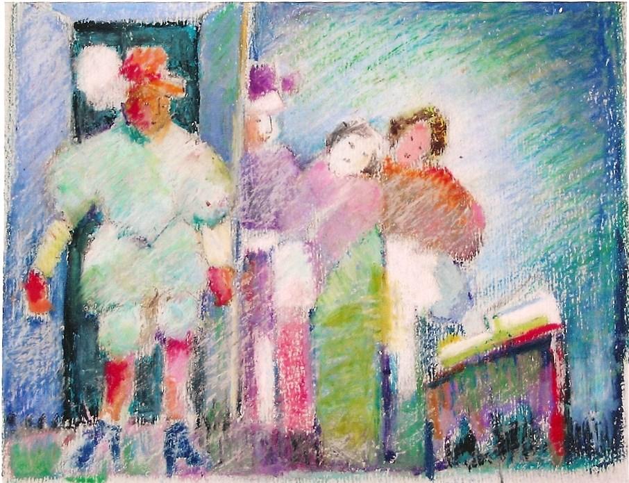"""don giovani"" original fine art by meribeth coyne"