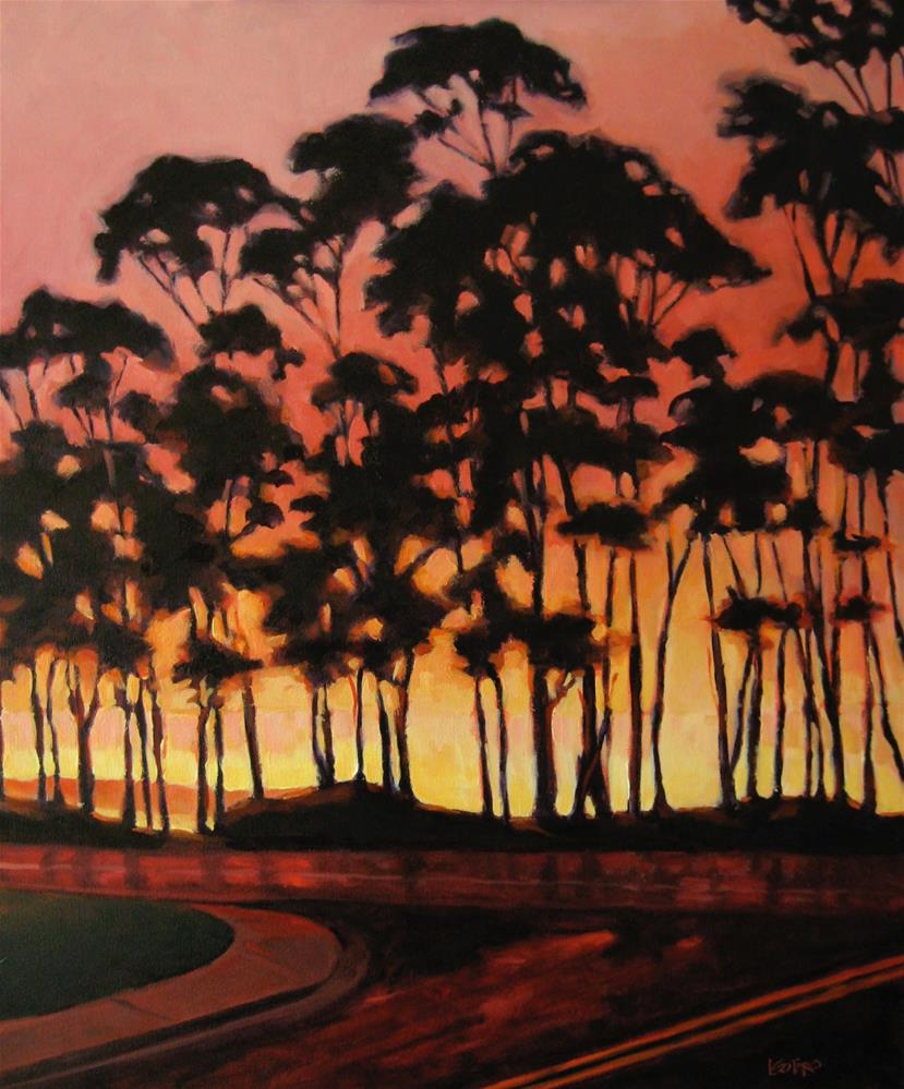 """Capitola Sunrise"" original fine art by Lisa Sotero"