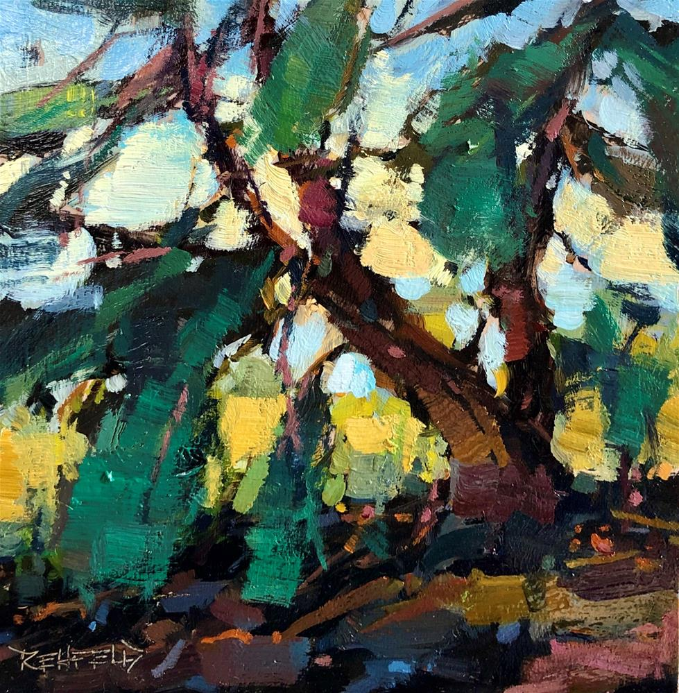 """In The Shade"" original fine art by Cathleen Rehfeld"