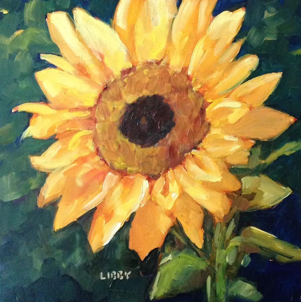 """""""One For Terry"""" original fine art by Libby Anderson"""