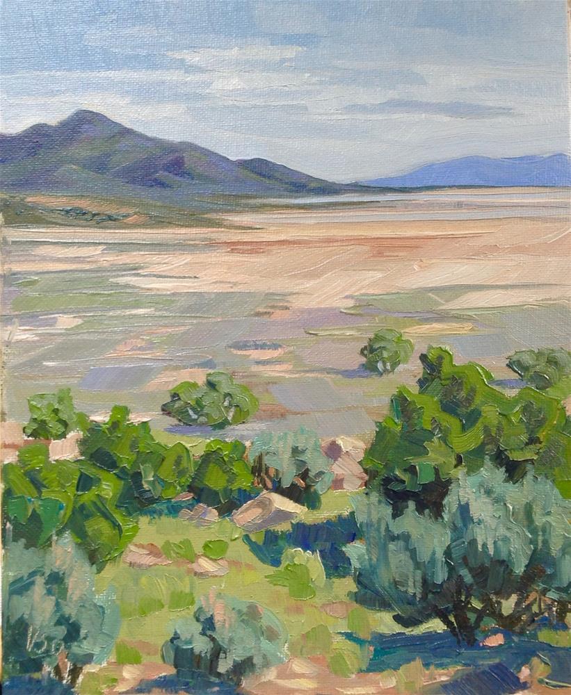 """Basin and Range"" original fine art by Valerie Orlemann"