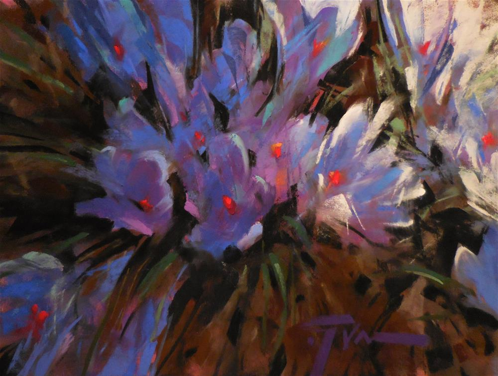 """Morning Walk"" original fine art by Jennifer Evenhus"