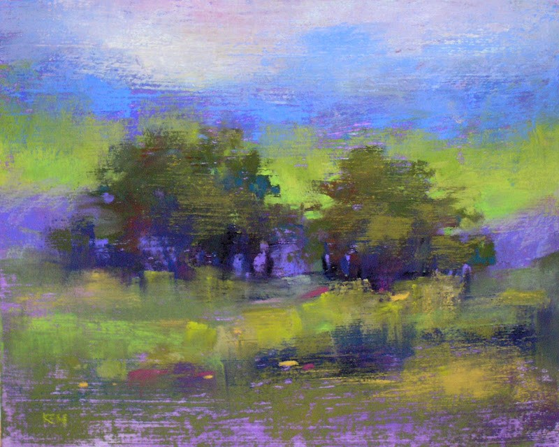 """The Power of a Limited Palette"" original fine art by Karen Margulis"