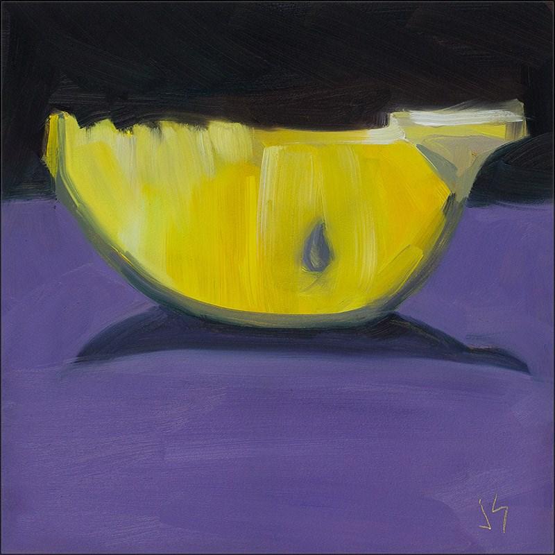 """""""30in30 – L 4 Lemon Joy"""" original fine art by Johnna Schelling"""