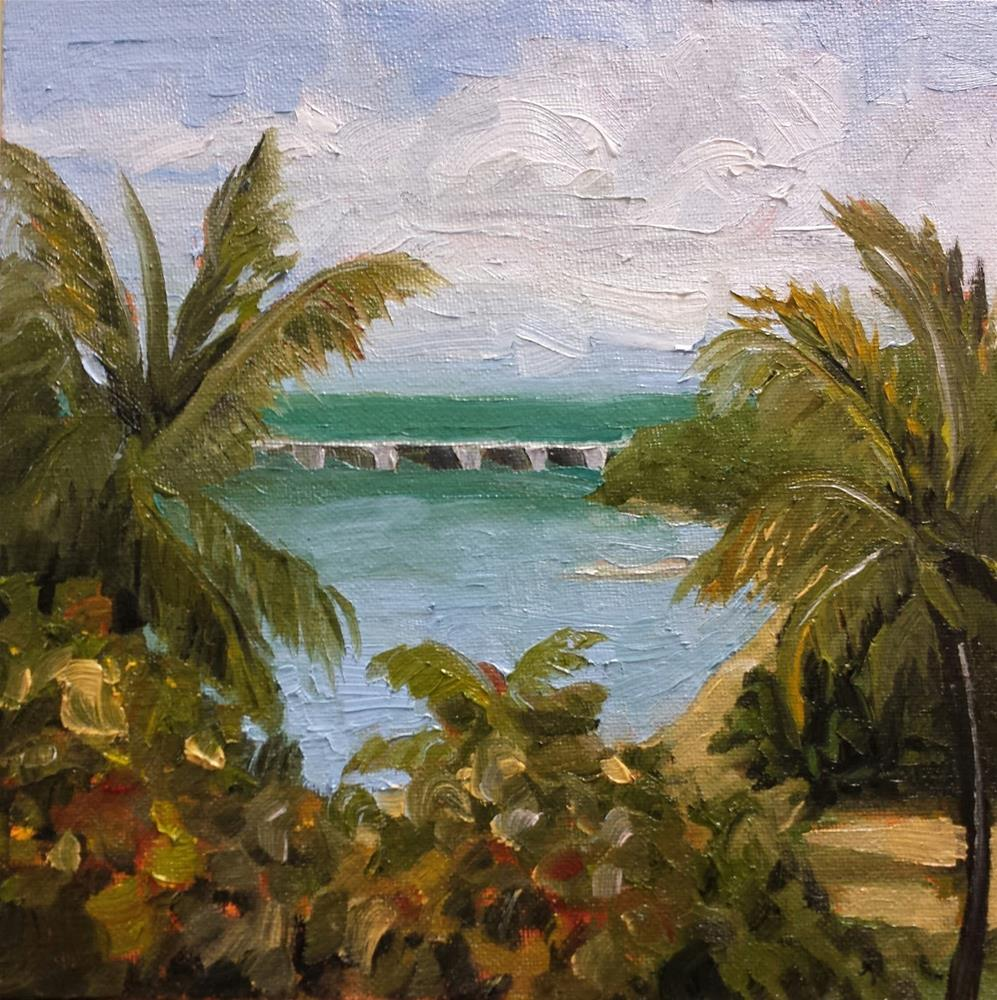 """Bahia Honda Key"" original fine art by Judith Fletcher"