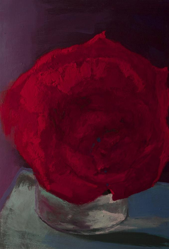 """Red, White & Blue"" original fine art by Pamela Sweet"