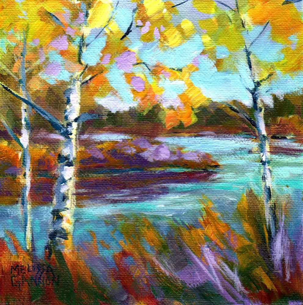 """Autumn Joy"" original fine art by Melissa Gannon"