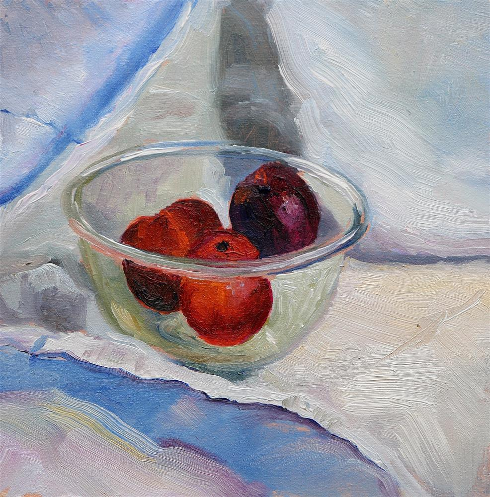 """Fruitbowl"" original fine art by Christine Derrick"