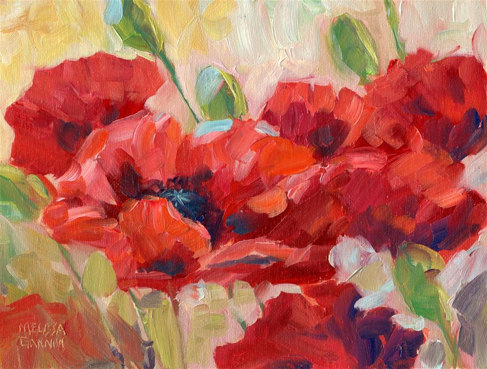 """Blowing in the Wind"" original fine art by Melissa Gannon"