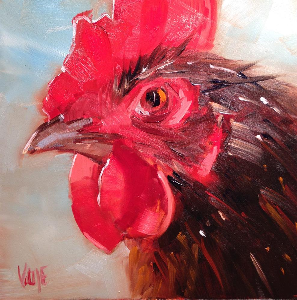 """254 Big Shot"" original fine art by Patty Voje"