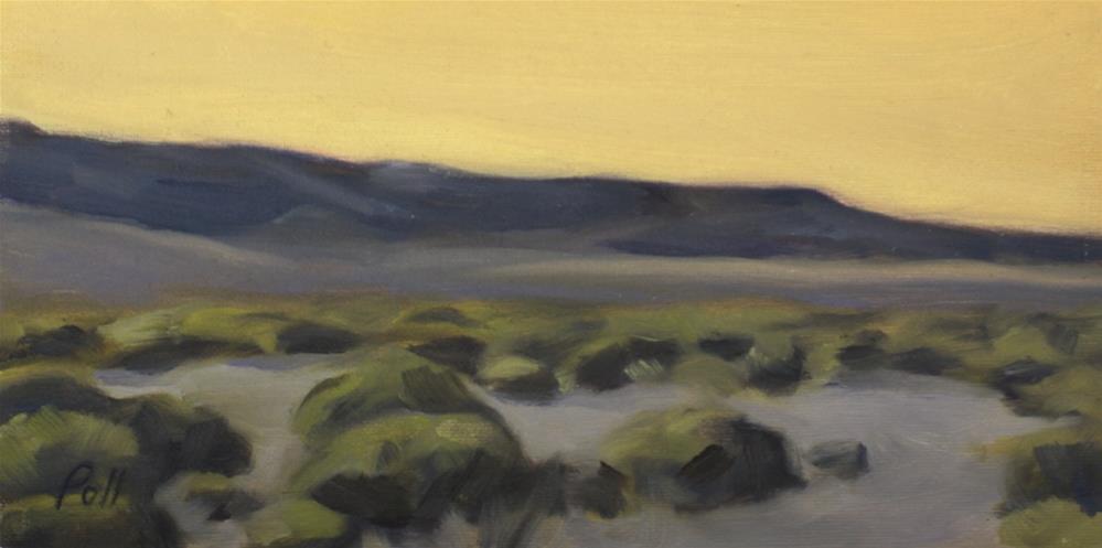 """Southwest Prairie (framed)"" original fine art by Pamela Poll"