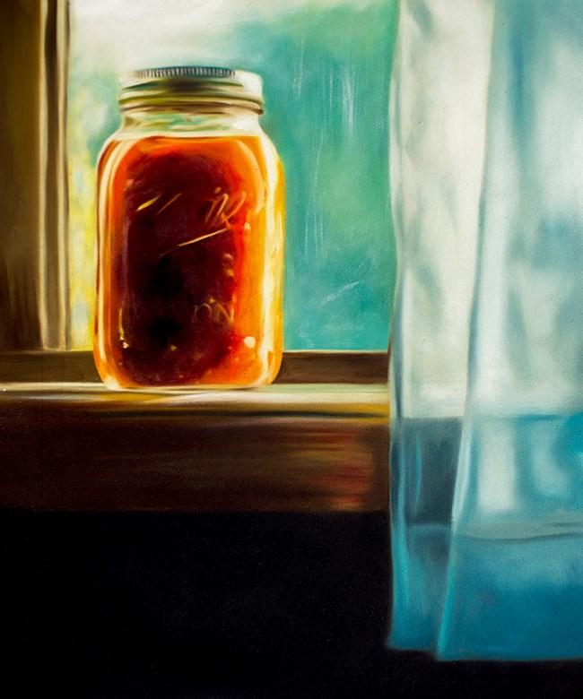 """Fresh Garden Salsa"" original fine art by Lauren Pretorius"