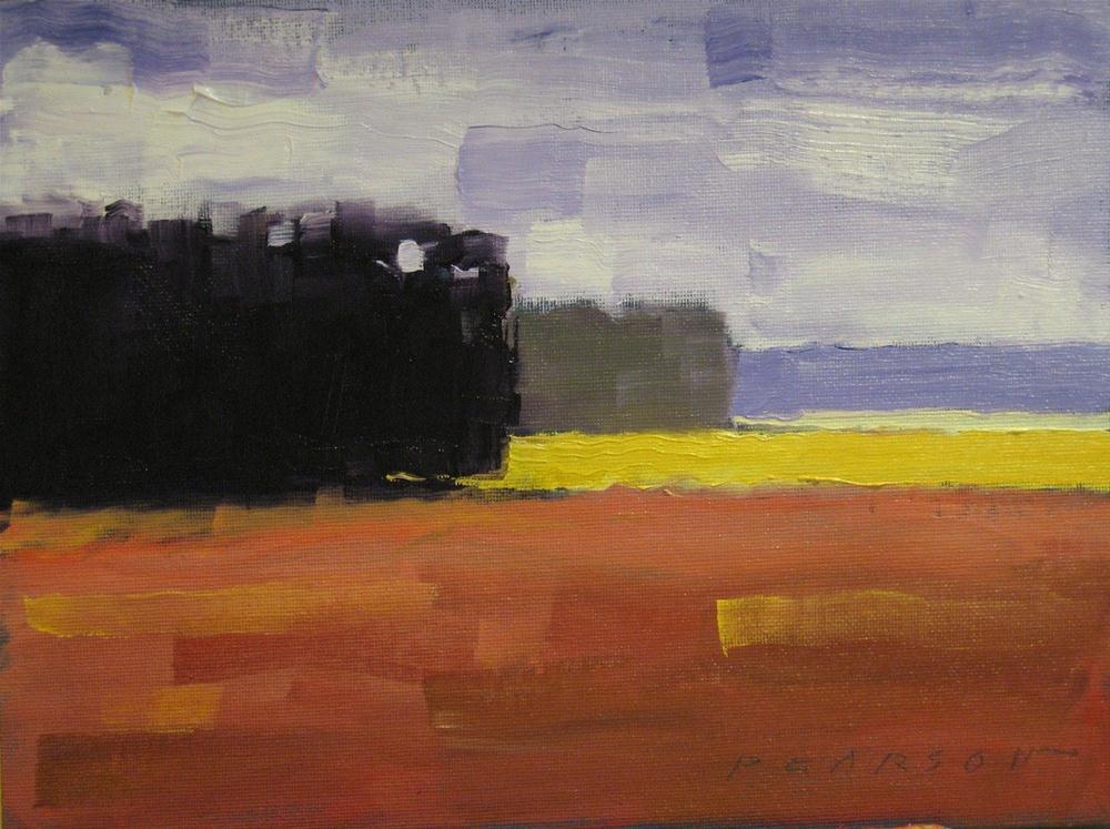 """Receeding"" original fine art by Dennis Pearson"